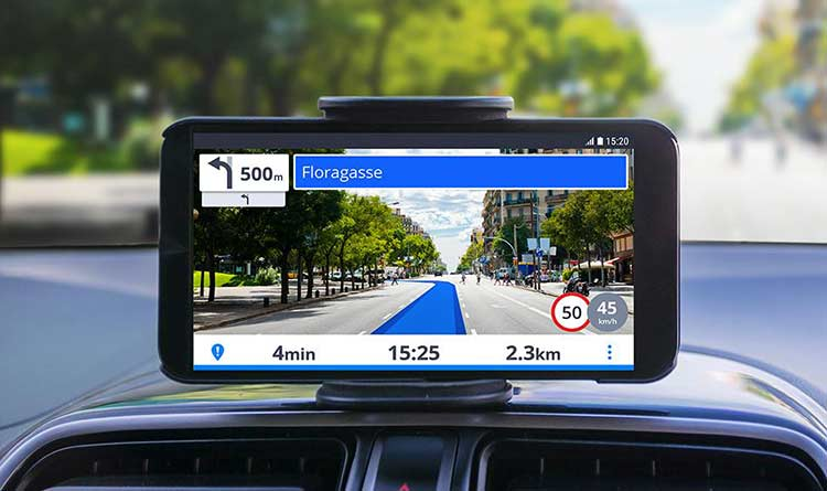 gps for moving shifting